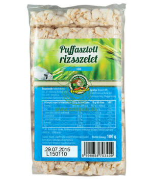 Puffasztott rizs sózott, Vegabond
