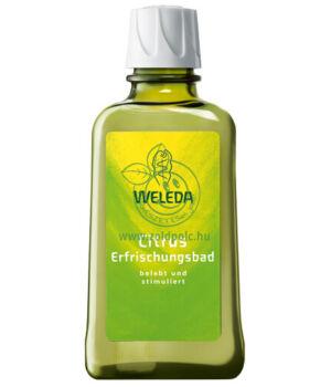 Fürdő frissítő citrusos, Weleda