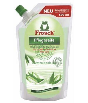 Frosch folyékony szappan utántöltő (aloe vera)