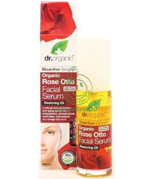 Dr. Organic arcszérum (rózsa)