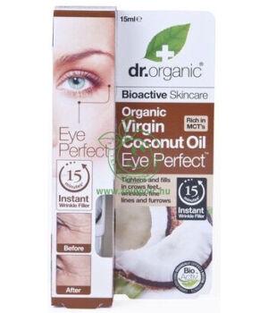 Dr. Organic szemkörnyék ápoló szérum (kókuszolaj)