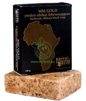Afrikai fekete szappan, shea vajas (100g)