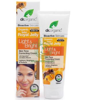 Dr. Organic bőrfolt világosító krém (méhp.)