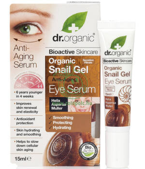 Dr. Organic szemkörnyék ápoló szérum (csigagél)