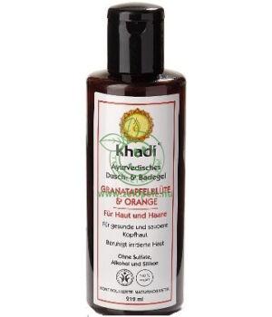 Fürdő- és tusológél, Khadi (Gránátalmavirág-Narancs)