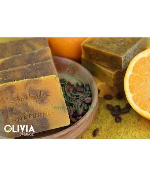 Pálmaolaj mentes szappan, Olivia (kávé-narancs)