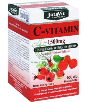 C-vitamin 1500mg nyújt. felszív., Jutavit 100db
