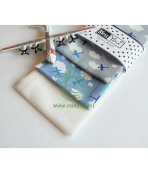 Textil zsebkendő 3 db-os, BlessYou (Gyerek-Repcsis)