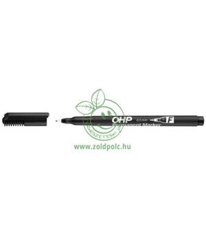 Alkoholos marker OHP 0,5mm, Ico (fekete)
