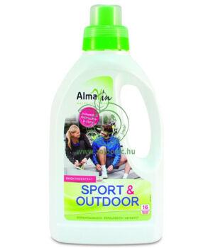 AlmaWin Öko folyékony mosószer sport ruhához (750ml)