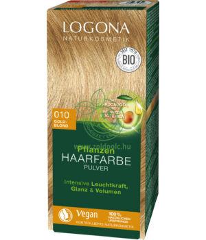 Henna hajfesték por Logona (aranyszőke)