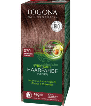 Henna hajfesték por Logona (gesztenyebarna)