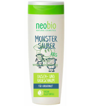 Neobio Kids tusfürdő és habfürdő 2in1 250ml