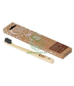 Bambusz fogkefe, felnőtt (puha sörte)