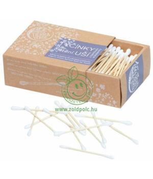 Bambusz fültisztító pálcika 200db
