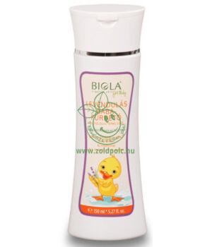 Biola levendulás babafürdető bio