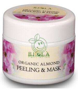 Biola mandulás peeling és maszk bio