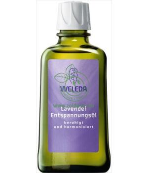 Bőrápoló olaj, Weleda (levendula,100ml)