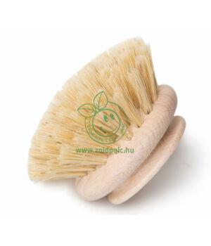 Cserélhető fej fa mosogató keféhez