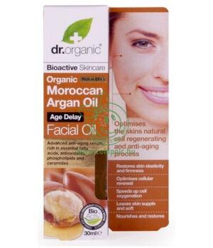 Dr. Organic arcápoló olaj (argán olaj)