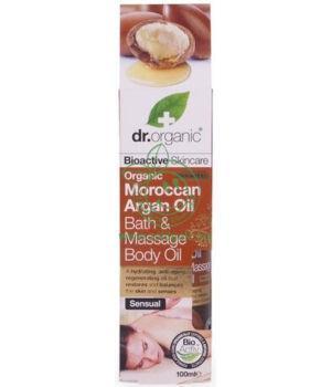 Dr. Organic fürdő- és masszázsolaj (argán olaj)