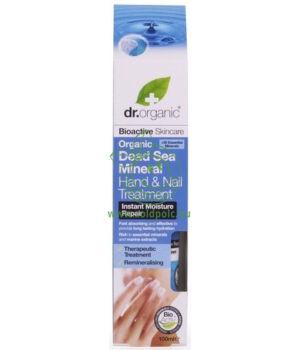 Dr. Organic kéz- és körömápoló krém (holt tengeri)