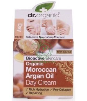 Dr. Organic nappali krém (argán olaj)