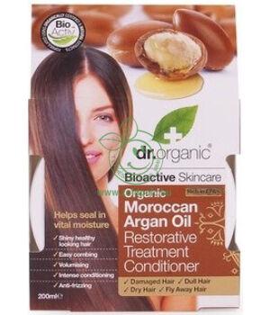 Dr. Organic regeneráló hajpakolás (argán olaj)