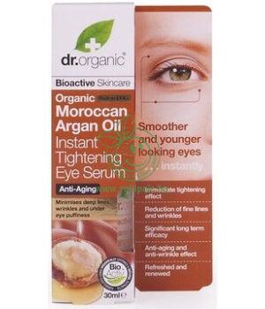 Dr. Organic szemkörnyék ápoló szérum (argán olaj)
