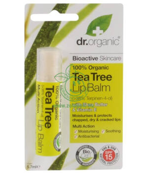 Dr. Organic ajakbalzsam (teafa)