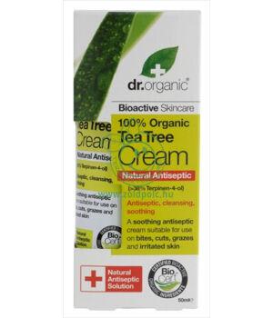 Dr. Organic antiszeptikus krém (teafa)