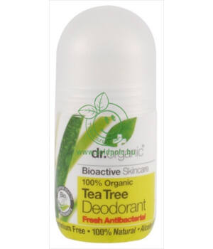 Dr. Organic dezodor (teafa)