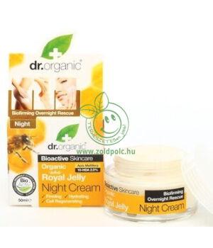 Dr. Organic éjszakai krém (méhpempő)