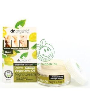 Dr. Organic éjszakai krém (olíva)
