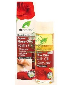 Dr. Organic fürdőolaj (rózsa)