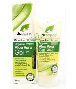 Dr. Organic gél uborkával (aloe vera)