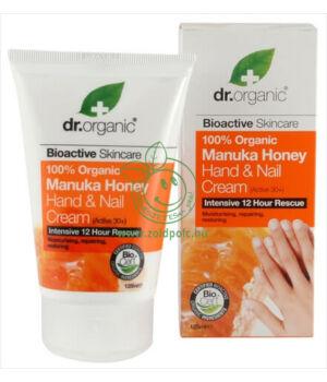 Dr. Organic kéz- és körömápoló (méz)