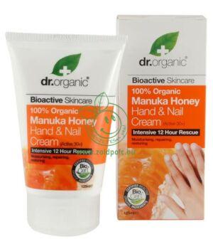 Dr. Organic kéz- és körömápoló manuka méz minta (5ml)