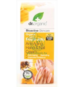 Dr. Organic kéz- és körömápoló (méhpempő)