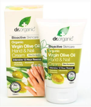 Dr. Organic kéz- és körömápoló (olíva)
