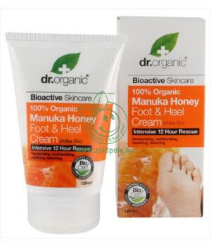 Dr. Organic láb- és sarokápoló (méz)