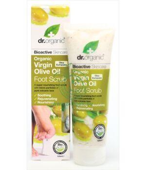 Dr. Organic lábradír (olíva)