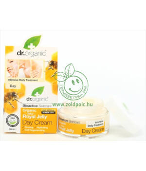 Dr. Organic nappali krém (méhpempő)