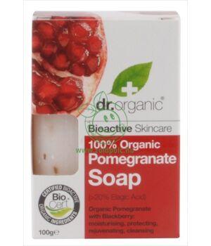 Dr. Organic szappan (gránátalma)