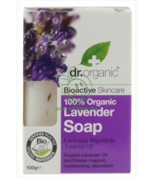 Dr. Organic szappan (levendula)