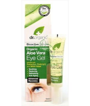 Dr. Organic szem gél (aloe vera)