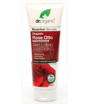 Dr. Organic testápoló (rózsa)