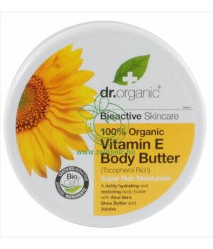 Dr. Organic testápoló vaj (E vitamin)