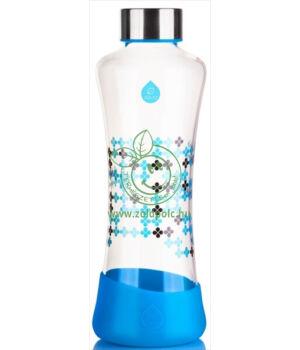 Equa squeeze üveg kulacs (Cyan)