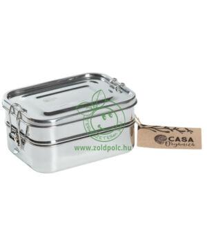 Ételhordó doboz szett rozsdamentes acélból